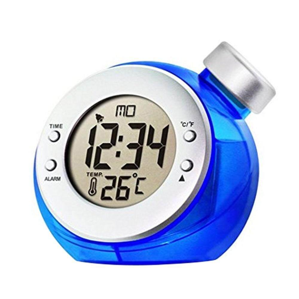 Miyifushi Homeliving Sihir Air Didukung Lingkungan Termometer LCD Jam Alarm Pajangan-Intl