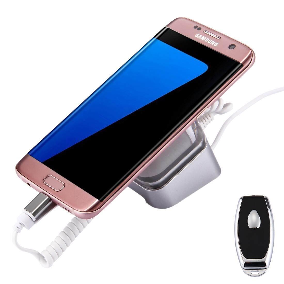 Telepon Seluler Anti Alarm Pencurian Stan Pameran dengan Pengendali Jarak Jauh untuk Samsung Galaxy, Huawei, HTC, LG, Google, xiaomi dan Smartphone dengan Mikro USB Port-Intl