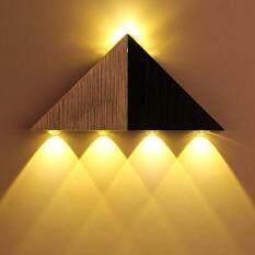 Modern 5W LED Wall Light Lamp Aluminum Corridor Bedroom Wall Sconce Lamp  Fixture