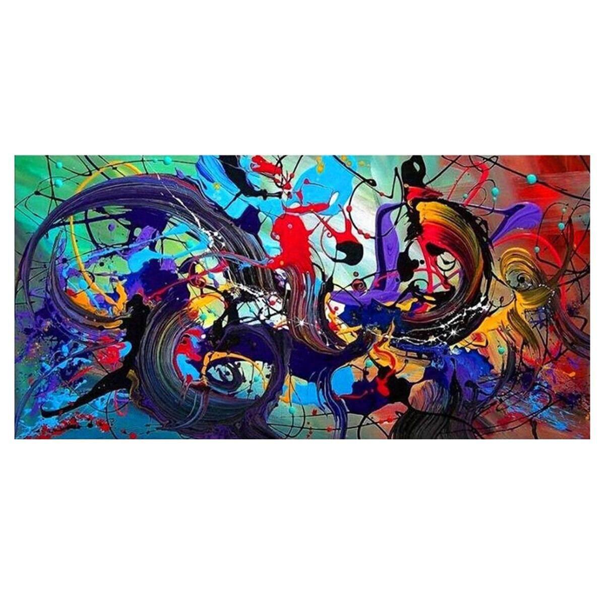FS Seni Abstrak Modern Minyak Cetakan Lukisan Kanvas Gambar Rumah Dekorasi Dinding Tanpa Bingkai