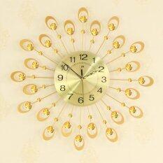 Wonderful Toy Modern Mute Wall Clock, Decorative Crystal 3D Large Silent Clocks, Diameter 54cm/21, Perfect for Housewarming Gift