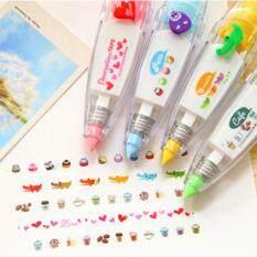 Mua BABY365 1 x Hàn Quốc dễ thương hiệu chỉnh băng Kawaii Đồ văn phòng phẩm mặt nạ băng đồ dùng học tập