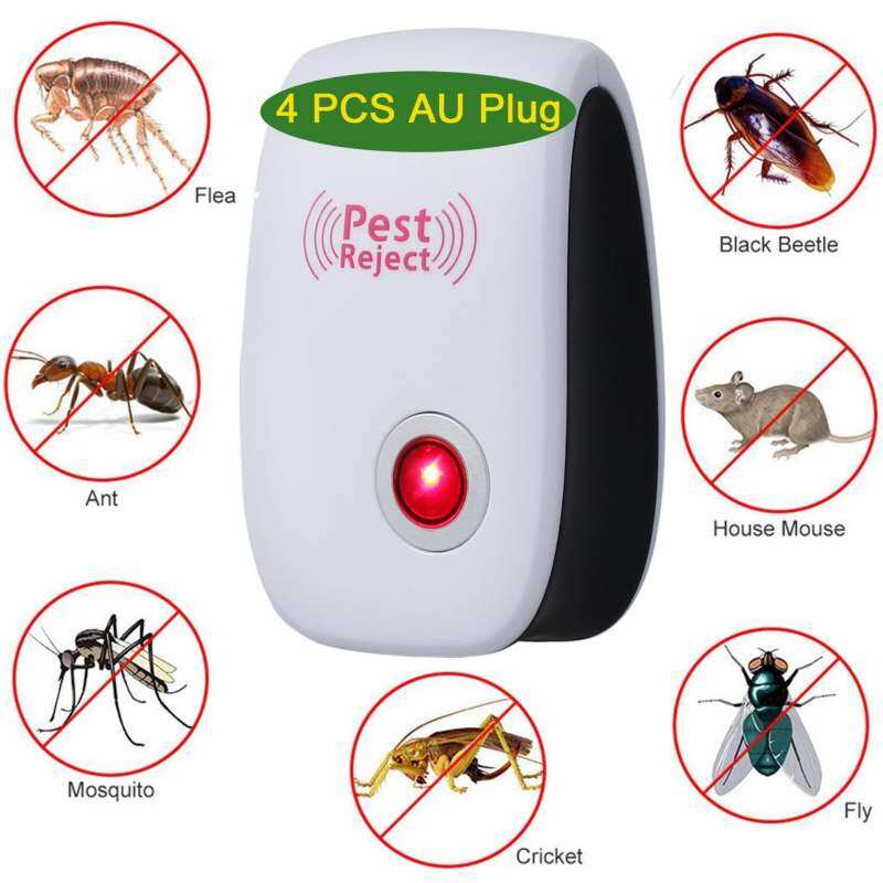Mosquito Killer Electronic Multi-Purpose Ultrasonic Pest Repeller Reject Rat Mouse Repellent Anti Rodent Bug Reject Ect (US plug) image on snachetto.com