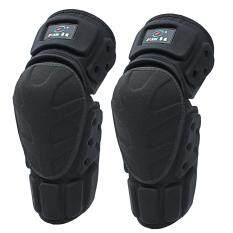 Moto Knee Pads Black Protective Motorcycle Kneepad Motorcycle Motocross Bike Bicycle Pads Knee Pads Protective Guards (Black)XL