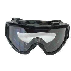 Motorcycle Cycling Clear Motocross Windproof Black Protective Glasses Goggles
