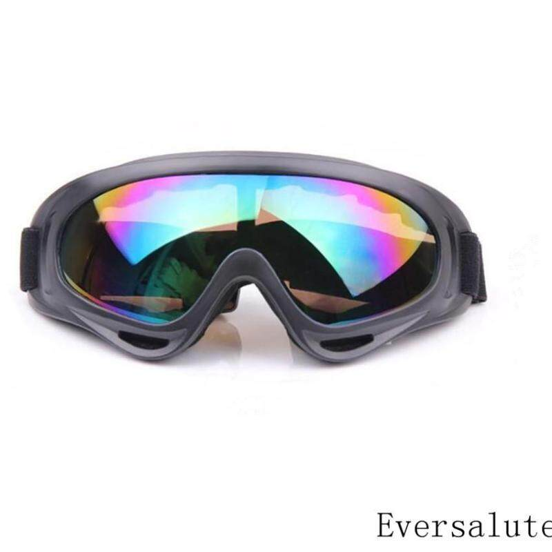 Motorcycle Goggle,Eversalute Dust Protection Goggle Sun Glasses Windproof Safety Goggles for Riding Motorcycle, Bikes, Skiing etc.