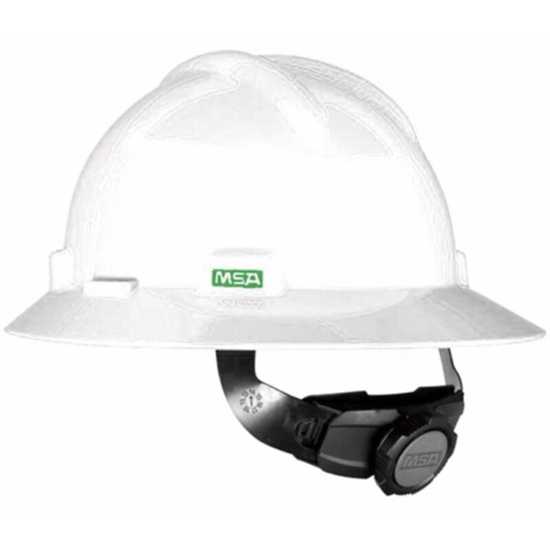 MSA HELMET V-GARD PROTECTIVE HAT W/RATCHET HARDNESS(ORIGINAL USA)