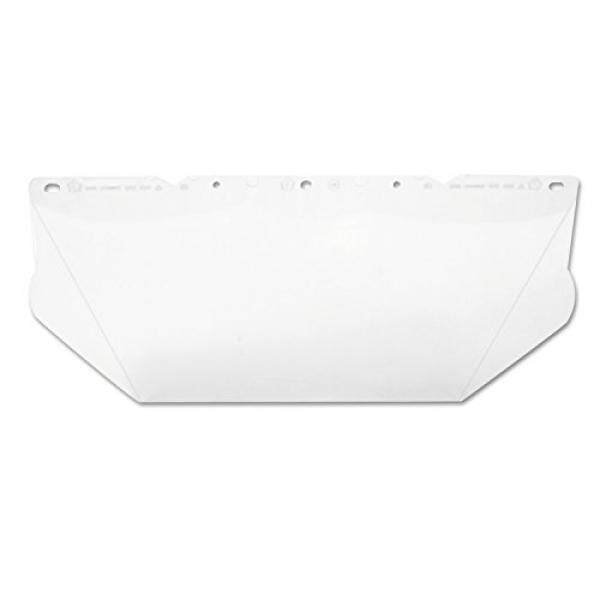 Safety MSA 10115840 V Gard Polycarbonate Visor Berkontur, Jelas, 8X17X0.06-Inch-Intl