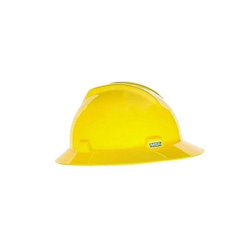 Safety Helmet MSA V-Gard Hat (Fastrac Suspension III)