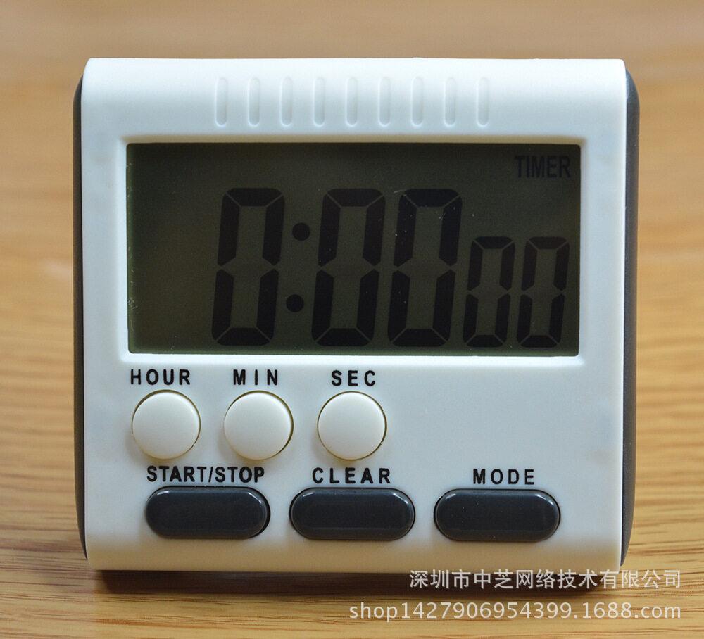 Multi Fungsi Besar LCD Digital Dapur Penghitung Waktu Alarm Count Hingga Down Selai 24 Selai-