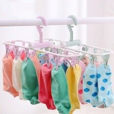 Multifunctional Windproof Folding Clothes Hanger