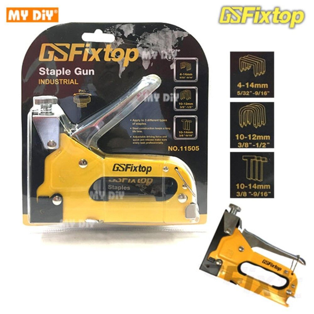 DIYAVENUERESOURCES - Fixtop Heavy Duty 3 in1 Staple Gun include 600pcs nail