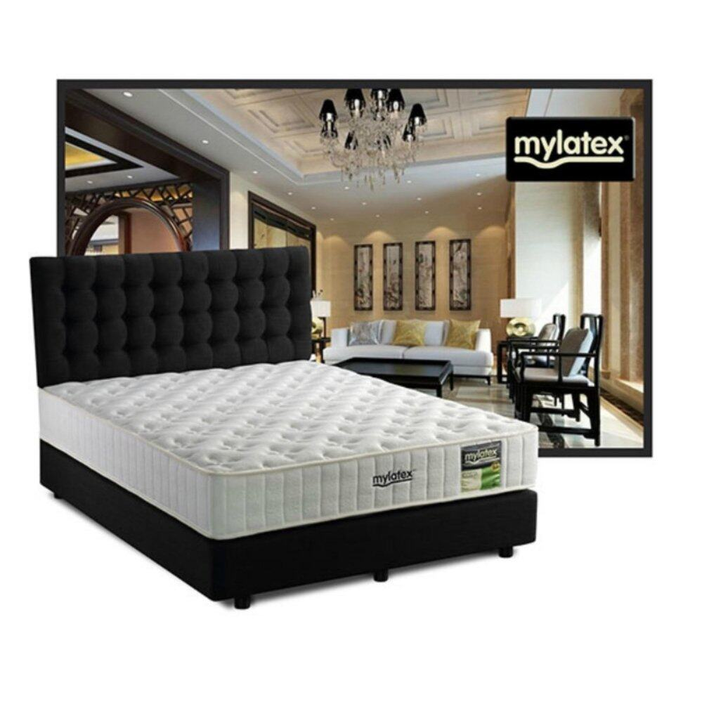 MyLatex COSTA 10 Inches Semi-Firm 100% Natural Latex Mattress (10 Years Warranty)