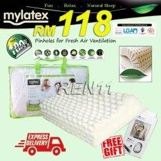 Mylatex Hbs18 100 Pinhole Natural Latex Contour Pillow Free Gift