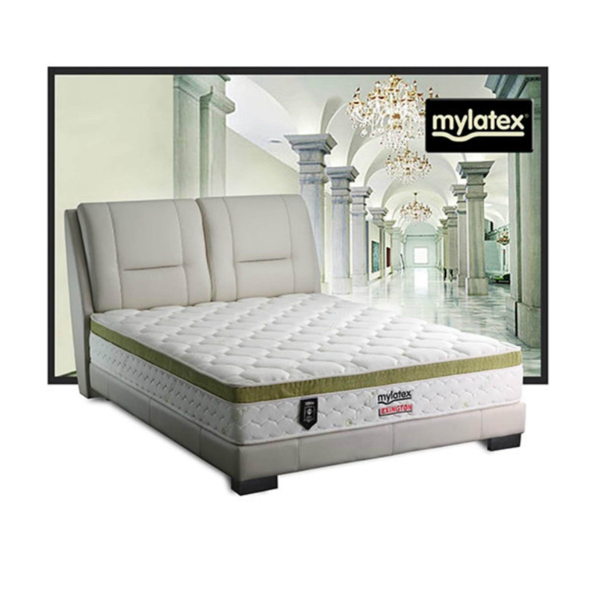 MyLatex Lexington 11 Inches Semi-Firm 100% Natural Latex Chiropractic Mattress (10 Years Warranty)