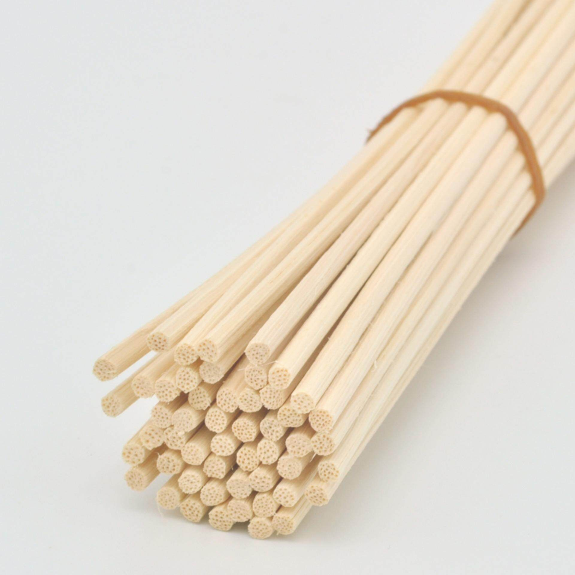 Natural Color Rattan Reed Diffuser Replacement Sticks (30cm x 3mm 100pcs) Aroma Fragence Scent - intl