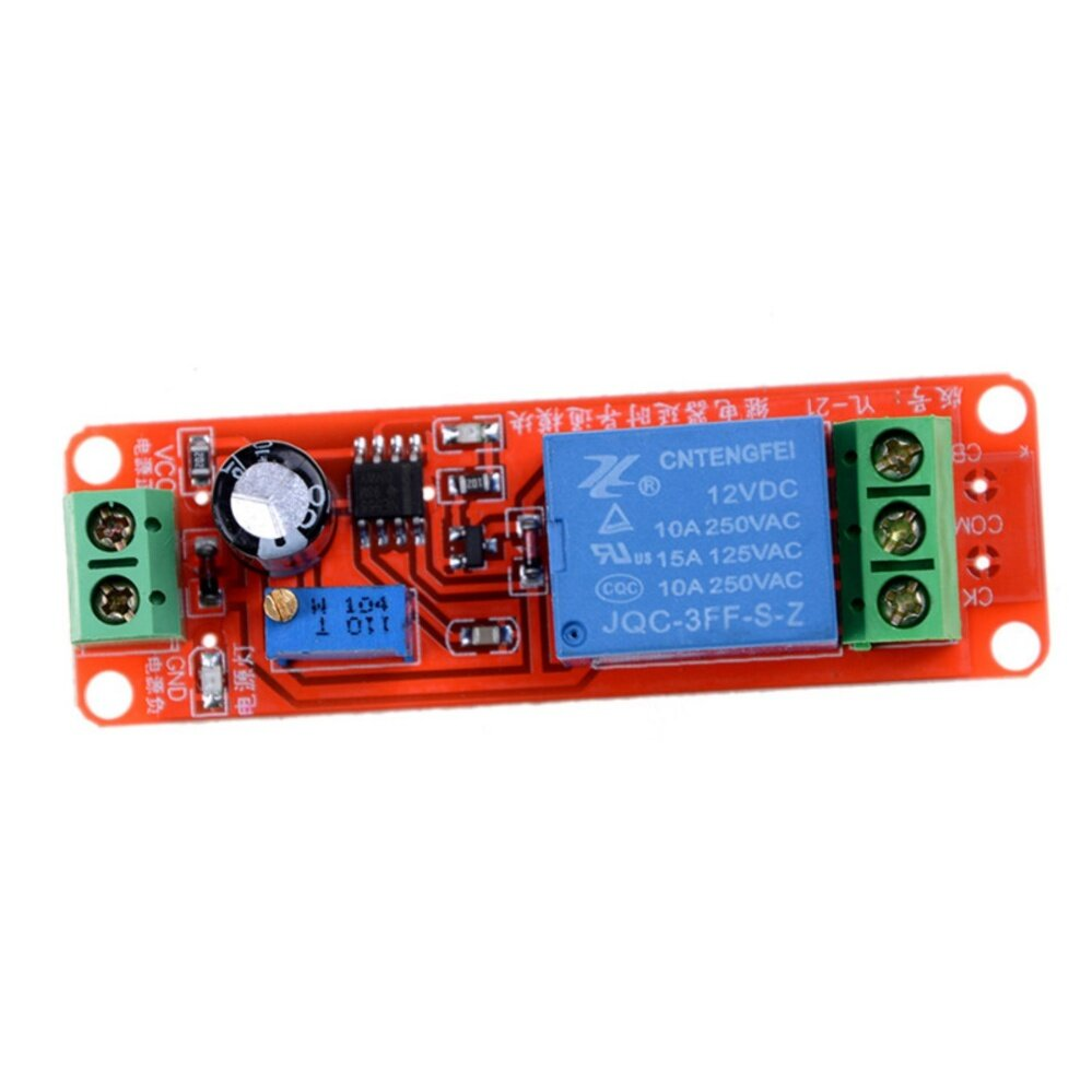 Buy Sell Cheapest Ne555 Dc 12 Best Quality Product Deals 1pcs 12v Delay Relay Turn On Off Switch Module V Perisai Penghitung Waktu Sakelar Dapat Disesuaikan Modul 0 10