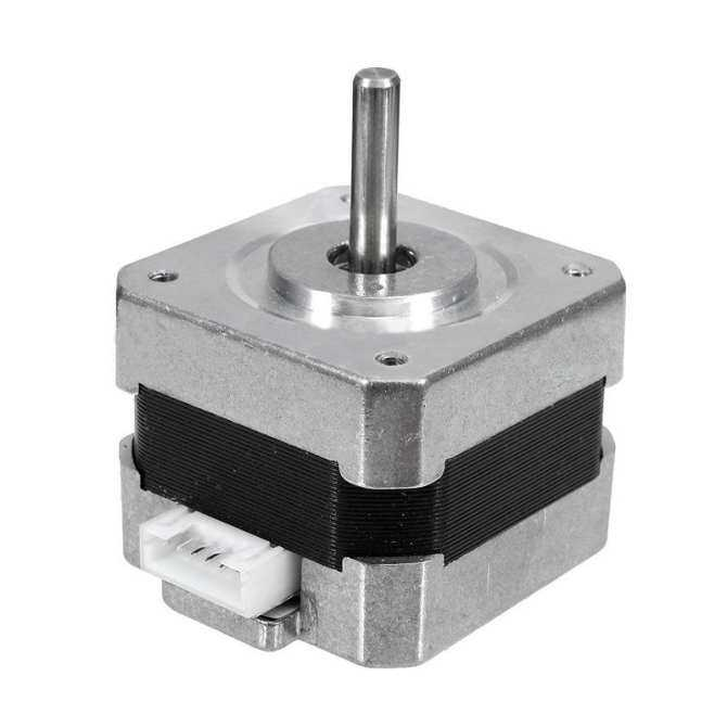 New 1-5X 28Ncm Nema 17 Stepper Motor 0.4A 18° .