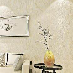 New 10 M Retro Plain Color Non Woven Wallpaper Living Room Clothing Shop Coffee Shop