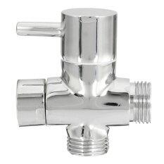 New 3 ways T-adapter Valve for Diverter Brass Bath Toilet Bidet Sprayer Shower Head Bathroom Accessories