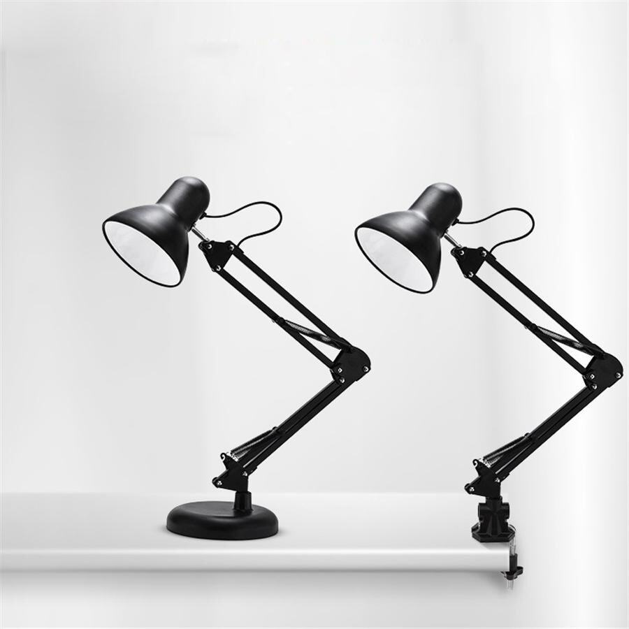 New Design 5W LED Desk Lamps Home Workroom Office Table Lamp Student Reading Lamps fashion Lights (Black) - intl
