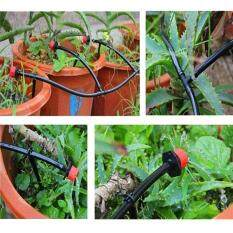 New DIY Micro Drip Irrigation System Dripper Auto Plant Watering 10m Garden Hose