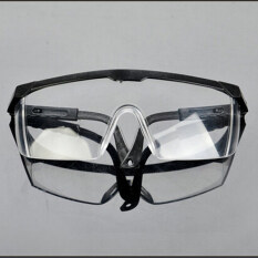 Vegoo New Safety Eye Protection Clear Lens Goggles Glasses From Lab Dust Paint Lab  Blue