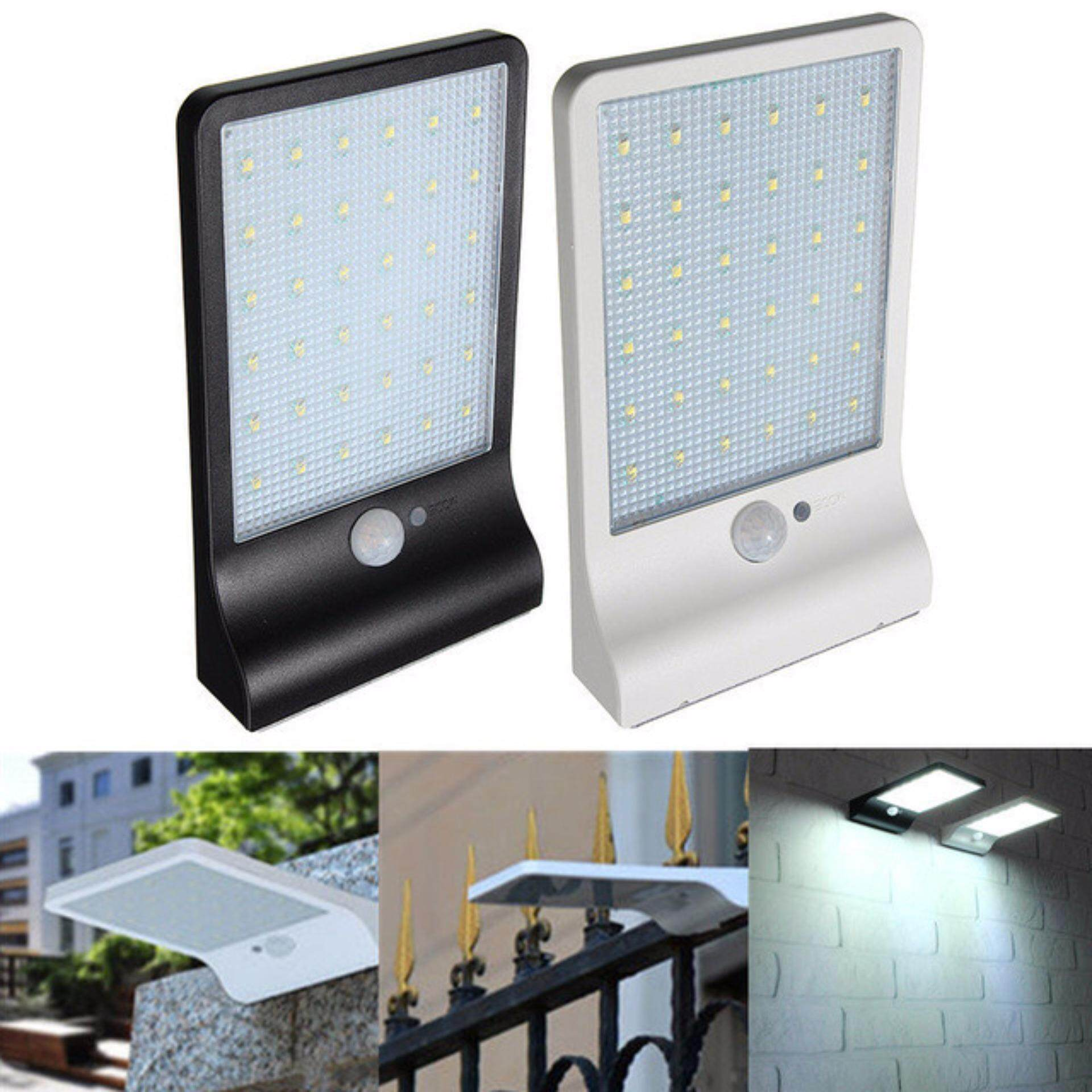 Buy Sell Cheapest Newest 450lm 36 Best Quality Product Deals Cheap Led Solar Powered Integration Street Light Full Hot Power Pir Motion Sensor Lamps Garden Security