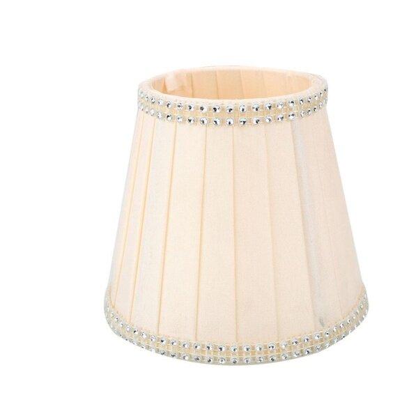 Newworldmall Vintage Cloth European Crystal Candle Chandelier Wall Lamp Lampshade Cafe->5 - intl
