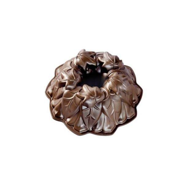 Nordic Ware Harvest Leaves Bundt Pan, Bronze - intl