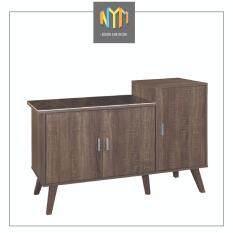 NYM Design Kitchen Cabinet/ Gas Cabinet (Brown)