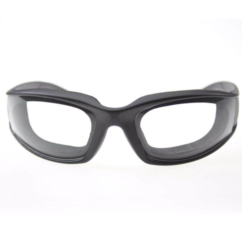 Onion Goggles Eye Glasses Onions Chopping Tears Free Protector Kitchen Tool Black