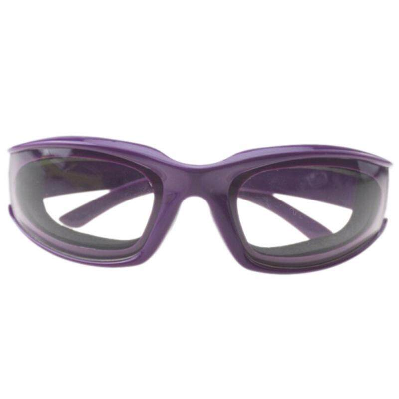 Onion Goggles Eye Glasses Onions Chopping Tears Free Protector Kitchen Tool Purple