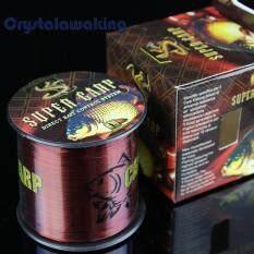 Original 500 Meters Super Power Fishing Line Wine Red 4.0 0.323mm 10kg By Crystalawaking.