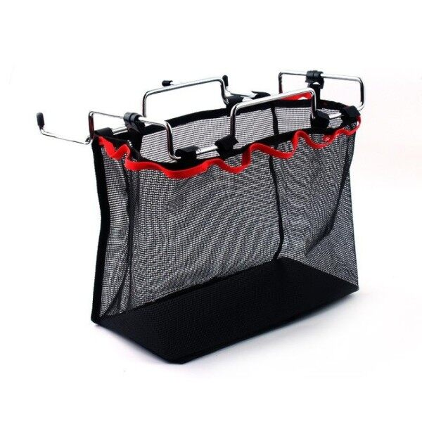 Outdoor Camping, Iron Wire Storage Rack, Portable Storage Bag, Wildtable, Barbecue Kit, Kitchen Sundries Storage Network Size:31Cmx17.5Cmx25cm(Max)