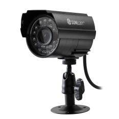 Outdoor Waterproof Cmos 700tvl 24 Led Ir-Cut Cylinder Cctv Security Camera By Topmall