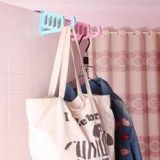 Over Door Hole Hook Clothes Coat Bag Hat Towel Hanger Bathroom Kitchen Organizer White By Autoleader.