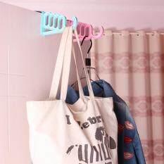 Over Door Hole Hook Clothes Coat Bag Hat Towel Hanger Bathroom Kitchen Organizer White By Autoleader.
