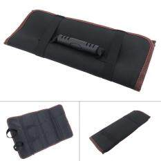 Oxford Canvas Chisel Roll Rolling Repairing Tool Bag with Carrying Handles for Repairing Tools