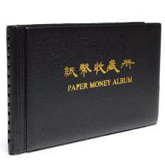 Paper Money Currency Banknote Holder Collection Storage Album Collecting 20 Note