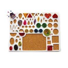Orange Sunshine Paper Quilling Template Papercraft Tool DIY Handicraft Apply Mould Board