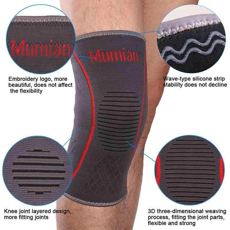 Patella Support Brace Elastic Sport Leg Protection Knee Wrap Protector Sleeve