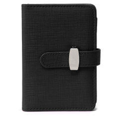 Personal Pocket Organiser Planner Pu Leather Cover Filofax Diary Notebook Black By Teamtop.
