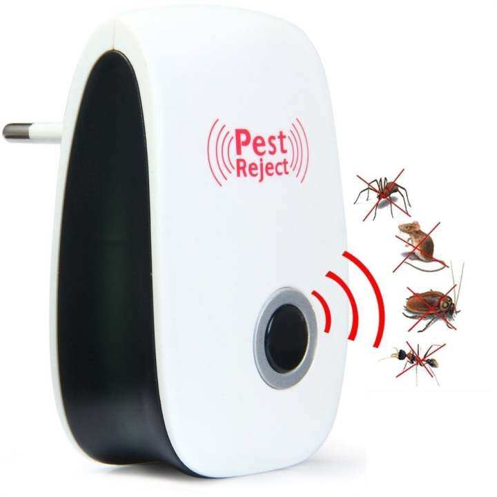 Pest Reject  Electronic Ultrasonic mice Mouse Repellent Anti Mosquito Insect Killer Rodent EU Plug QG004-SZ