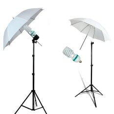 Photo Studio Lamp Umbrella Light Stand Continuous Lighting Kit(uk Stand) (intl) By Sportschannel.