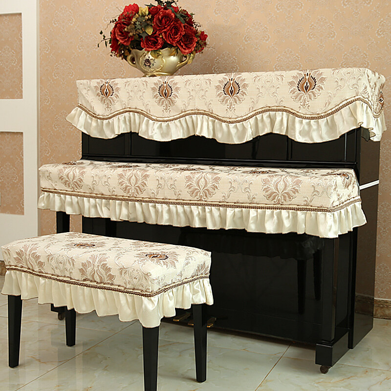 The European-Style Piano Gabe Dust Cover Piano Cover Cloth Malaysia