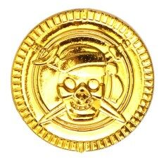 Plastic Gold Coins Pirate Pirates Treasure Chest Coin Loot Partyfavors
