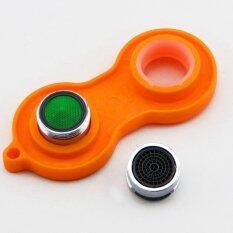 Plastic Sprinkle Faucet Aerator Tool Spanner Wrench Sanitaryware Repair Tool Orange