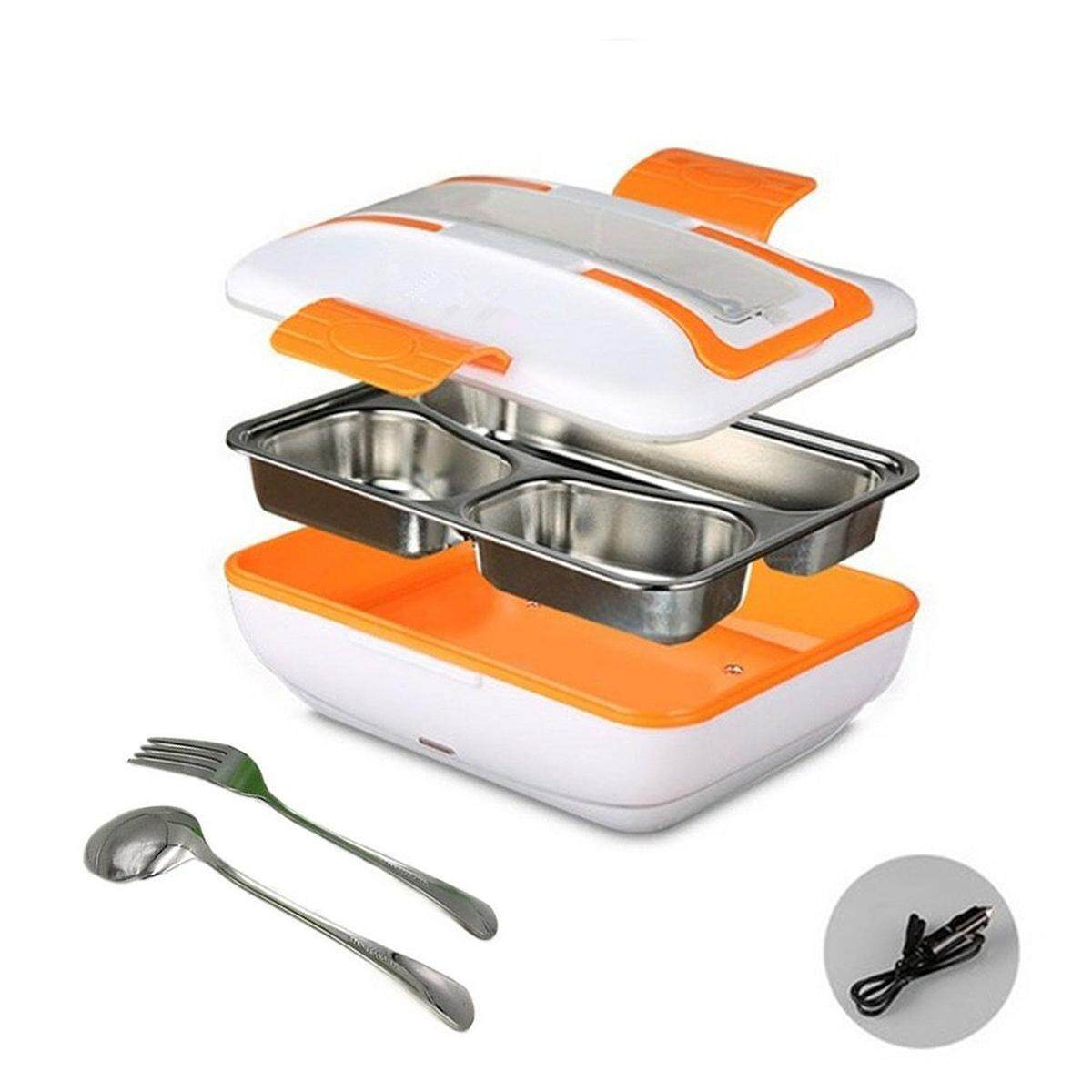 Portable Car Truck Electric Heating Lunch Box Food Warm Heater Storage Container - Intl By Five Star Store.