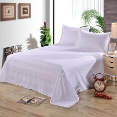Practical High-quality Hot Sell Bedsheet Bed Bedclothe Bedspread Polyester Room Furniture Flat Single Beding 160*230cm
